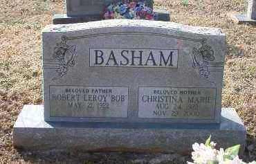 BASHAM, ROBERT LEROY [BOB] - Crawford County, Arkansas | ROBERT LEROY [BOB] BASHAM - Arkansas Gravestone Photos