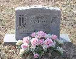 BASHAM, TSIANINA - Crawford County, Arkansas | TSIANINA BASHAM - Arkansas Gravestone Photos