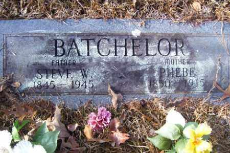 BATCHELOR, PHEBE - Crawford County, Arkansas   PHEBE BATCHELOR - Arkansas Gravestone Photos