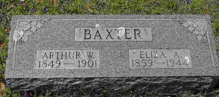 BAXTER, ELIZA A. - Crawford County, Arkansas | ELIZA A. BAXTER - Arkansas Gravestone Photos