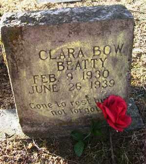 BEATTY, CLARA BOW - Crawford County, Arkansas   CLARA BOW BEATTY - Arkansas Gravestone Photos