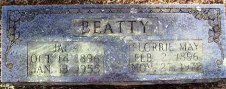 BEATTY, FLORRIE MAY - Crawford County, Arkansas | FLORRIE MAY BEATTY - Arkansas Gravestone Photos