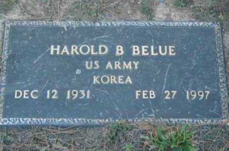 BELUE (VETERAN KOR), HAROLD B - Crawford County, Arkansas   HAROLD B BELUE (VETERAN KOR) - Arkansas Gravestone Photos