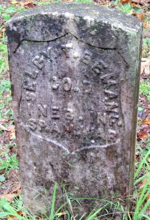 BEMAN (VETERAN SAW), SELBY T. - Crawford County, Arkansas | SELBY T. BEMAN (VETERAN SAW) - Arkansas Gravestone Photos