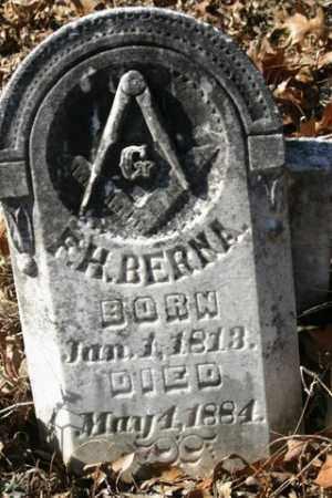 BERNA, F. H. - Crawford County, Arkansas   F. H. BERNA - Arkansas Gravestone Photos