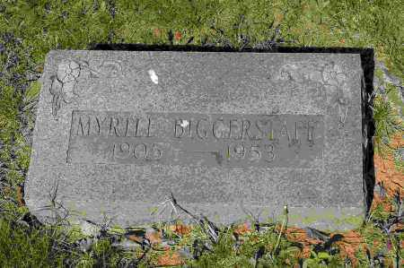 BIGGERSTAFF, MYRTLE - Crawford County, Arkansas | MYRTLE BIGGERSTAFF - Arkansas Gravestone Photos