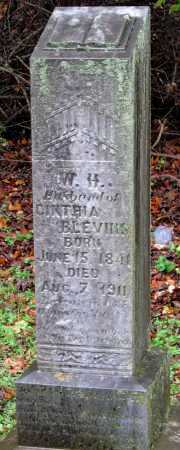 BLEVINS  (VETERAN UNION), W H - Crawford County, Arkansas | W H BLEVINS  (VETERAN UNION) - Arkansas Gravestone Photos