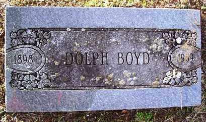 BOYD, DOLPH - Crawford County, Arkansas | DOLPH BOYD - Arkansas Gravestone Photos
