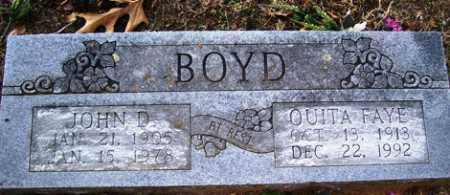 BOYD, JOHN DOYLE - Crawford County, Arkansas | JOHN DOYLE BOYD - Arkansas Gravestone Photos