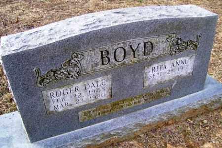 BOYD, ROGER DALE - Crawford County, Arkansas   ROGER DALE BOYD - Arkansas Gravestone Photos