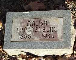 BRANDENBURG, MALISA - Crawford County, Arkansas   MALISA BRANDENBURG - Arkansas Gravestone Photos