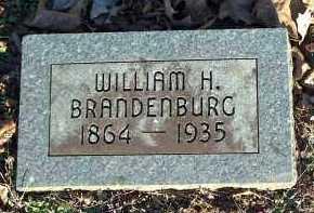 BRANDENBURG, WILLIAM H. - Crawford County, Arkansas | WILLIAM H. BRANDENBURG - Arkansas Gravestone Photos