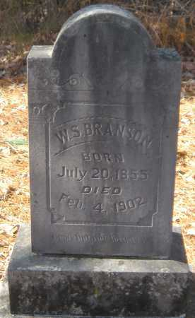 BRANSON, WILLIAM S - Crawford County, Arkansas | WILLIAM S BRANSON - Arkansas Gravestone Photos
