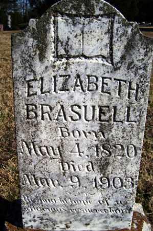 BRASUELL, ELIZABETH - Crawford County, Arkansas | ELIZABETH BRASUELL - Arkansas Gravestone Photos