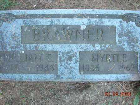 BRAWNER, MYRTLE - Crawford County, Arkansas | MYRTLE BRAWNER - Arkansas Gravestone Photos