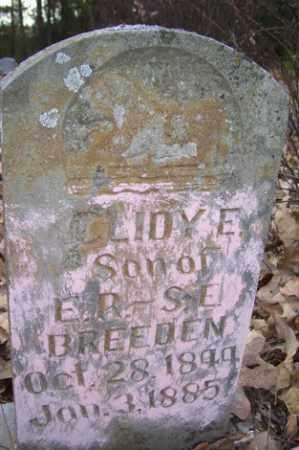 BREEDEN, CLIDY E - Crawford County, Arkansas | CLIDY E BREEDEN - Arkansas Gravestone Photos