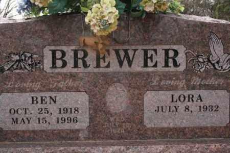 BREWER, BEN - Crawford County, Arkansas | BEN BREWER - Arkansas Gravestone Photos