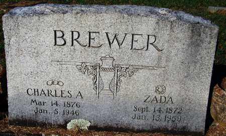 BREWER, CHARLES A - Crawford County, Arkansas | CHARLES A BREWER - Arkansas Gravestone Photos