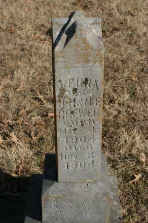BREWER, VERNIA - Crawford County, Arkansas | VERNIA BREWER - Arkansas Gravestone Photos