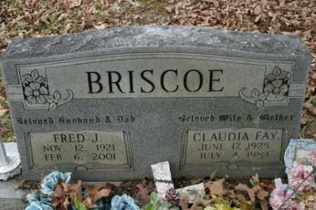 BRISCOE, CLAUDIA FAY - Crawford County, Arkansas | CLAUDIA FAY BRISCOE - Arkansas Gravestone Photos