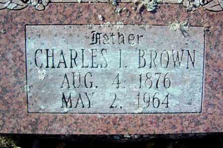 BROWN, CHARLES I - Crawford County, Arkansas | CHARLES I BROWN - Arkansas Gravestone Photos