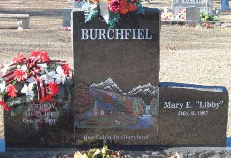 BURCHFIEL, GERALD W - Crawford County, Arkansas   GERALD W BURCHFIEL - Arkansas Gravestone Photos