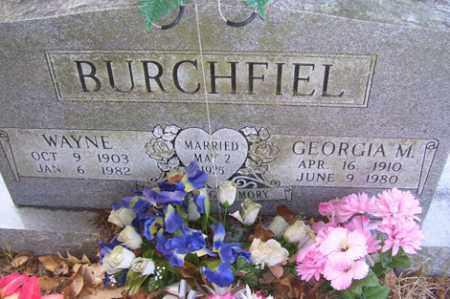 BURCHFIEL, WAYNE - Crawford County, Arkansas | WAYNE BURCHFIEL - Arkansas Gravestone Photos