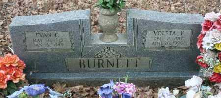 BURNETT, VOLETA - Crawford County, Arkansas | VOLETA BURNETT - Arkansas Gravestone Photos