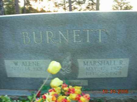 BURNETT, MARSHALL R. - Crawford County, Arkansas | MARSHALL R. BURNETT - Arkansas Gravestone Photos
