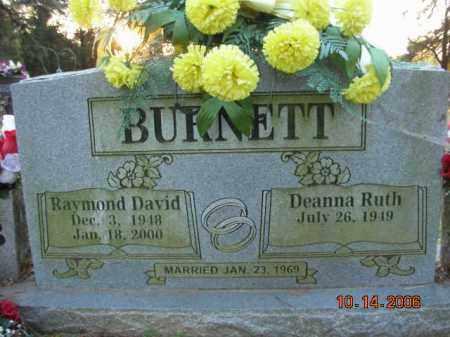 BURNETT, RAYMOND DAVID - Crawford County, Arkansas | RAYMOND DAVID BURNETT - Arkansas Gravestone Photos
