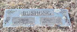 BUSHONG, WILLIAM L. - Crawford County, Arkansas | WILLIAM L. BUSHONG - Arkansas Gravestone Photos