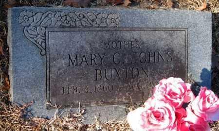JOHNS BUXTON, MARY C - Crawford County, Arkansas | MARY C JOHNS BUXTON - Arkansas Gravestone Photos