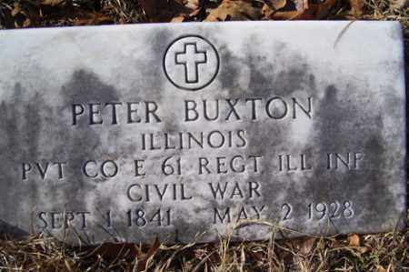 BUXTON (VETERAN UNION), PETER - Crawford County, Arkansas | PETER BUXTON (VETERAN UNION) - Arkansas Gravestone Photos