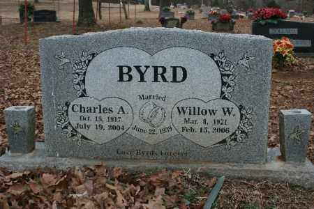 BYRD, CHARLES - Crawford County, Arkansas | CHARLES BYRD - Arkansas Gravestone Photos
