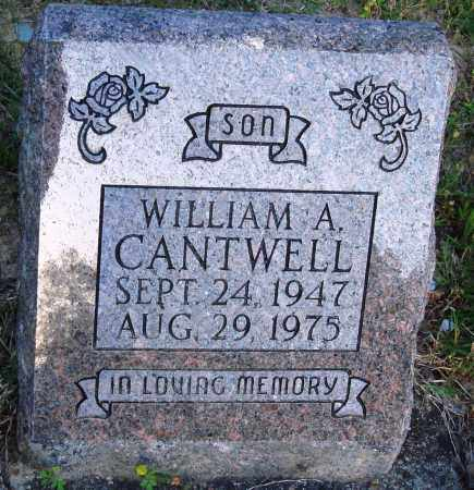 CANTWELL, WILLIAM A - Crawford County, Arkansas | WILLIAM A CANTWELL - Arkansas Gravestone Photos