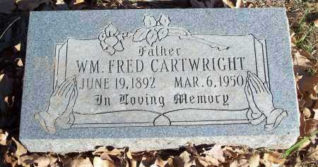 CARTWRIGHT, WILLIAM FRED - Crawford County, Arkansas | WILLIAM FRED CARTWRIGHT - Arkansas Gravestone Photos