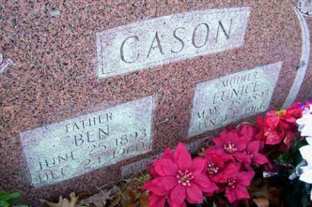 CASON, BEN - Crawford County, Arkansas | BEN CASON - Arkansas Gravestone Photos