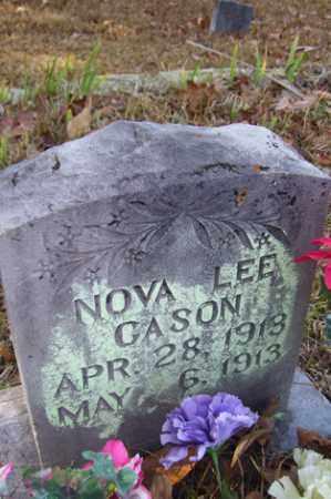CASON, NOVA LEE - Crawford County, Arkansas   NOVA LEE CASON - Arkansas Gravestone Photos