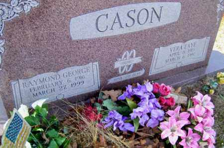 CASON, RAYMOND GEORGE - Crawford County, Arkansas | RAYMOND GEORGE CASON - Arkansas Gravestone Photos