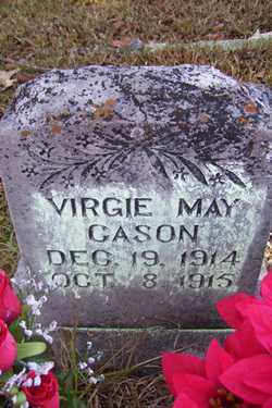 CASON, VIRGIE MAY - Crawford County, Arkansas | VIRGIE MAY CASON - Arkansas Gravestone Photos