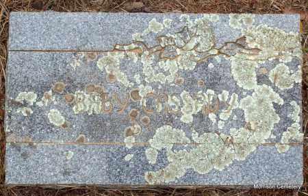 CASSDY, BABY - Crawford County, Arkansas | BABY CASSDY - Arkansas Gravestone Photos