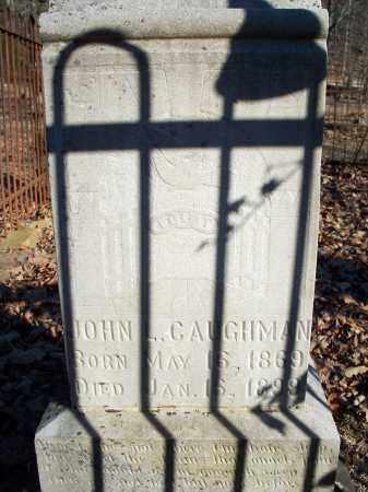 CAUGHMAN, JOHN L - Crawford County, Arkansas | JOHN L CAUGHMAN - Arkansas Gravestone Photos