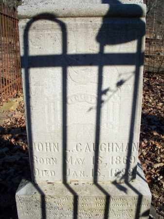 CAUGHMAN, JOHN L - Crawford County, Arkansas | JOHN L CAUGHMAN - Arkansas Gravestone Photos