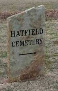 *HATFIELD  SIGN,  - Crawford County, Arkansas |  *HATFIELD  SIGN - Arkansas Gravestone Photos