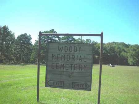 *WOODY MEMORIAL  SIGN,  - Crawford County, Arkansas |  *WOODY MEMORIAL  SIGN - Arkansas Gravestone Photos