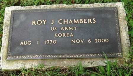 CHAMBERS (VETERAN KOR), ROY J - Crawford County, Arkansas | ROY J CHAMBERS (VETERAN KOR) - Arkansas Gravestone Photos