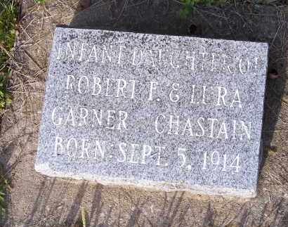 CHASTAIN, INFANT DAUGHTER - Crawford County, Arkansas | INFANT DAUGHTER CHASTAIN - Arkansas Gravestone Photos