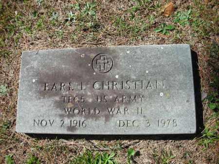 CHRISTIAN (VETERAN WWII), EARL L - Crawford County, Arkansas | EARL L CHRISTIAN (VETERAN WWII) - Arkansas Gravestone Photos