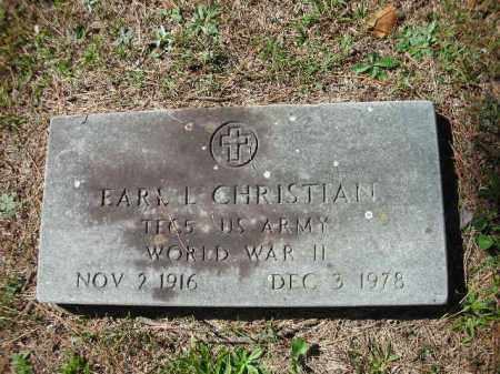 CHRISTIAN (VETERAN WWII), EARL L - Crawford County, Arkansas | EARL L CHRISTIAN (VETERAN WWII) - Arkansas Gravestone Photos