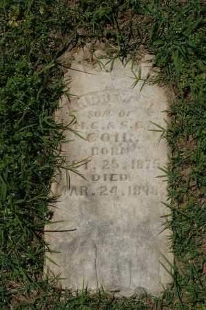 COIL, ANDREW J - Crawford County, Arkansas | ANDREW J COIL - Arkansas Gravestone Photos